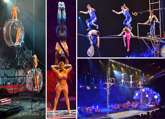 2013 Ringling Bros. Barnum & Bailey Built to Amaze Circus in San Jose, CA