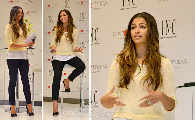 Macys INC Bedding Fashion Bedroom Collection Event with Model Camila Alves and HGTV Vern Yip