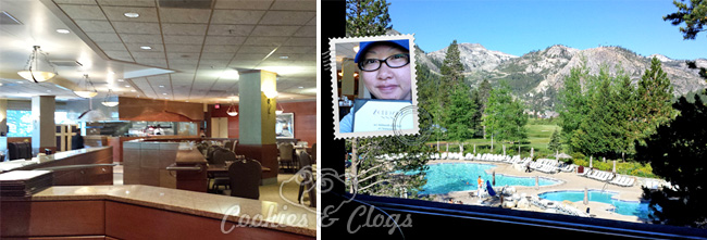 Cascades Breakfast Restaurant in Resort at Squaw Creek in North Lake Tahoe / Olympic Valley
