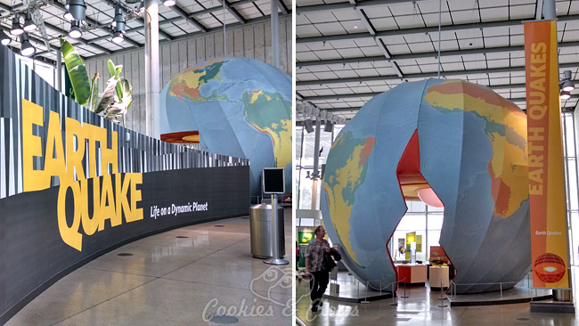 Earthquake Exhibit at California Academy of Sciences at Golden Gate Park in San Francisco, CA #SFBay