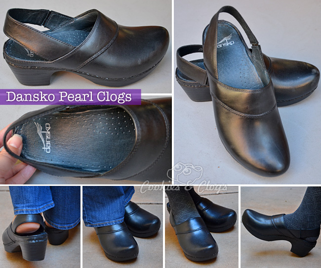 Dansko Pearl Clogs from the Monaco Fall Collection #shoes