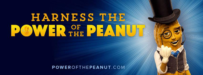 Harness the Power of the Peanut with Mr. Peanut from Planters #powerofthepeanut