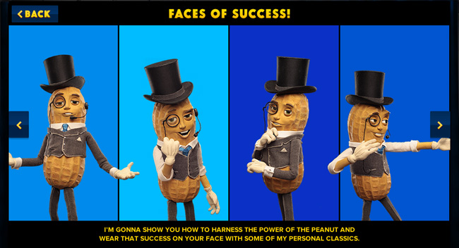 Faces of Success - Harness the Power of the Peanut with Mr. Peanut from Planters #powerofthepeanut