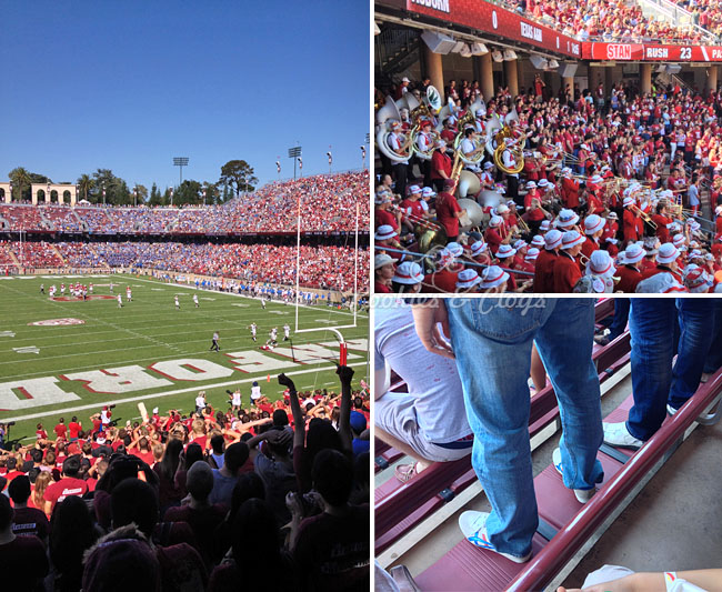 Stanford University VS UCLA October 2014 College Football game #gostanford