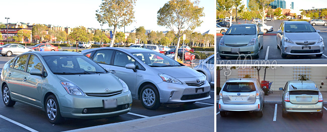 2014 Toyota Prius v Family Hybrid Review - Comparison with Older Model