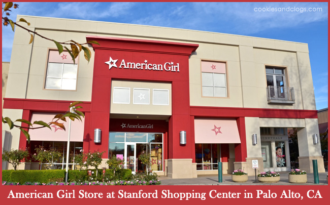New American Girl Store at Stanford Shopping Center in Palo Alto, CA Grand Opening 2013