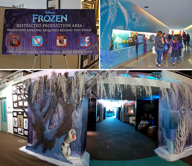 Walt Disney Frozen Press Day at Disney Animation Building in Burbank #DisneyFrozenEvent