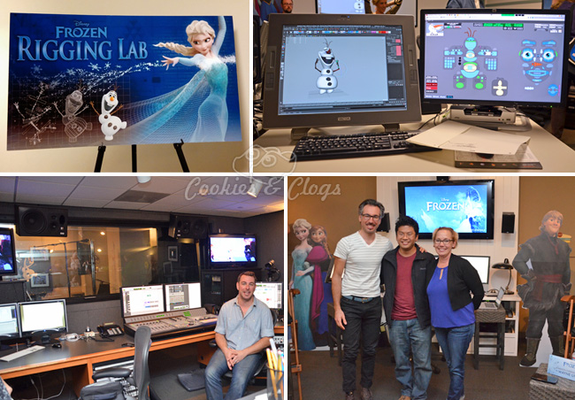 Walt Disney Frozen Press Day w/ Rigging, Animators, Video Recording, and Interview with Directors and Producer #DisneyFrozenEvent