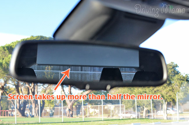 2014 Acura MDX Crossover SUV Family Review Rear View Mirror Screen