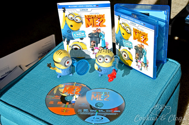 Despicable Me 2 DVD / Blu-ray Combo Pack Release December 10, 2013