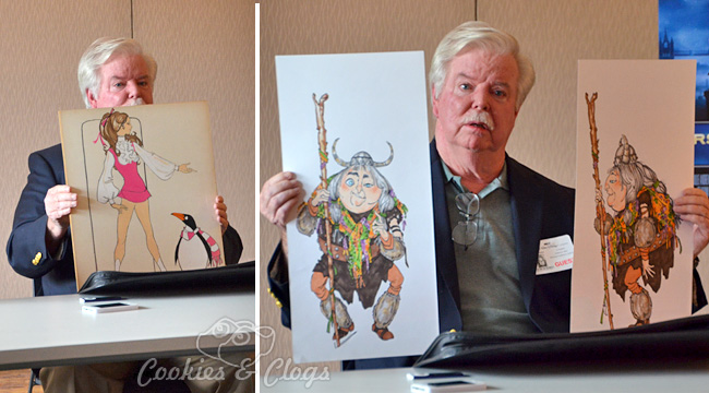 Mary Poppins Chimney Dancer and Later Costume Designer Pete Menefee #DisneyFrozenEvent #MaryPoppins