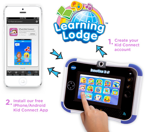 VTech Kid Connect App for InnoTab 3S #innotab3s