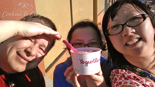 2014 Winter in California w/ spring-like weather and ice cream to boot!