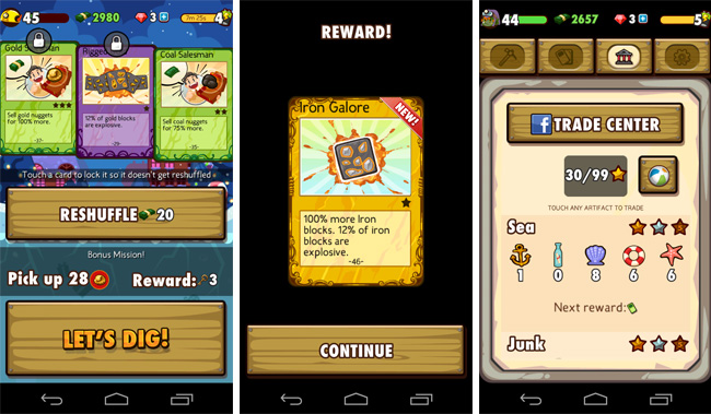 Pocket Mine Game App Review - for iOS and Android