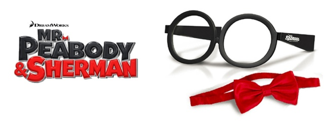 r. Peabody & Sherman movie hits theaters on March 7, 2014 with movie prize pack giveaway #MrPeabody