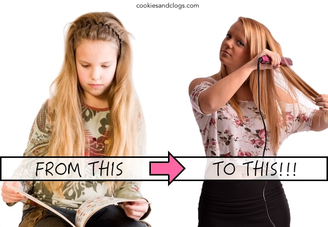 Adolescence / Puberty - Change from child to teenager comparison and its affect on parents. #teens