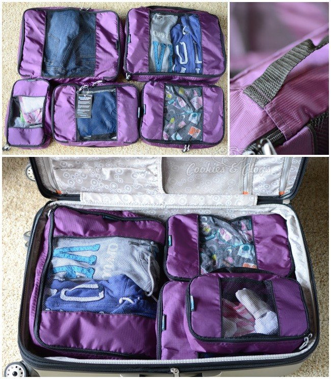 TravelWise Packing Cube System 5 Piece Weekender PLUS Set only $29.95 with FREE shipping at Amazon.com #Travel
