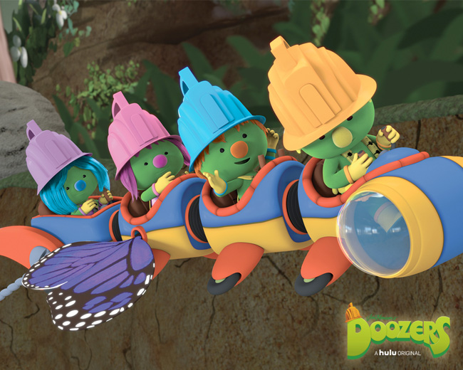 Doozers - Hulu Original series for preschool kids #Doozers