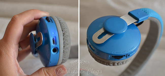 Lil' Gadgets Untangled Pro Wireless Bluetooth Headphones for children. High-quality, durable, stylish #Technology #Kids