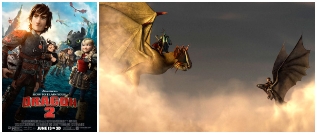 How to Train Your Dragon 2 Trailer and Poster #HTTYD2
