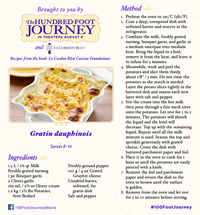 Gratin dauphinois easy scalloped potatoes recipe #Recipes #100FootJourney