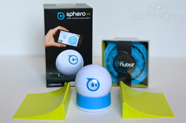 Sphero robotic ball controlled by smartphone or tablet