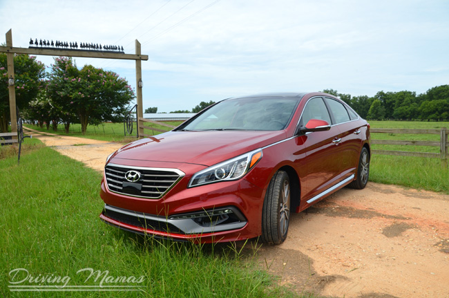 2015 Sonata at Hyundai USA Media Event incl. Alabama plant tour #NewSonata #Cars
