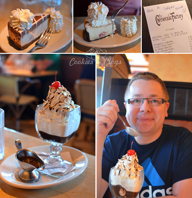The Cheesecake Factory celebrates 2014 National Cheesecake Day with half-off slices and a contest #NationalCheesecakeDay #SayCheesecakeContest #ad