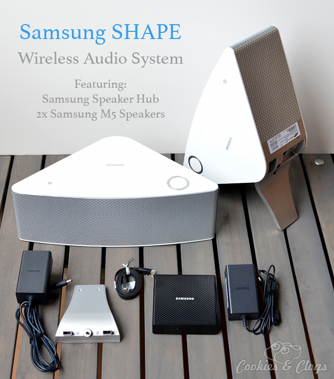 No Best Buy Coupon Needed During 2014 August Audio Fest - Samsung SHAPE Wireless Audio System with Speaker Hub and M5 speakers #AudioFest #spon