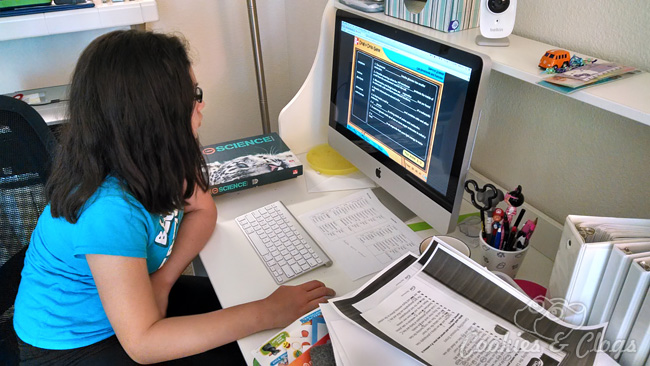 Building good study habits with Sylvan Learning Study Skills course – teen girls at computer #education #paid