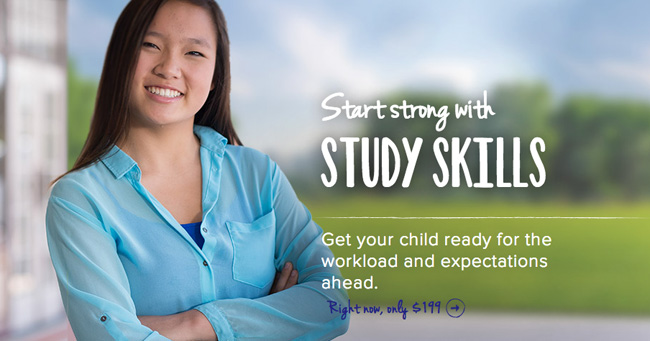 Building good study habits with Sylvan Learning Study Skills course #education #paid