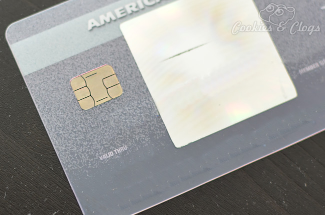 Credit card with embedded chip to lessen fraud and protect from security / data breaches #breachwatch