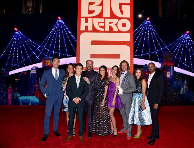 Big Hero 6 Premiere – Red Carpet, Celebrities, After-Party & Me – Voice Talent #BigHero6Event