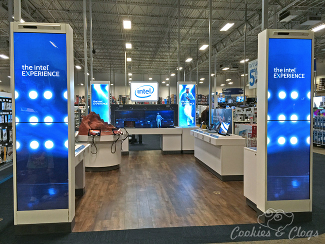 Intel Technology Experience at Best Buy includes photos and video