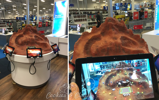 Intel Technology Experience at Best Buy includes photos and video – Mars Escape