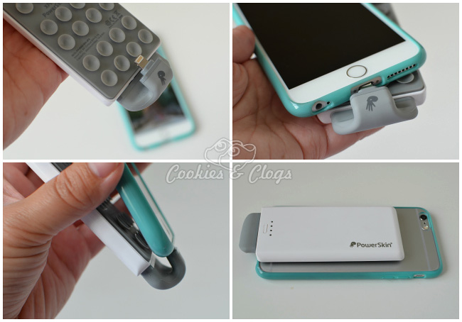 PowerSkin Pop'n 2 External Battery for iPhone 6 and iPhone 6 Plus