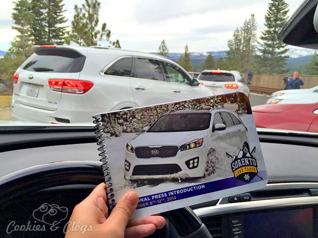 2016 Kia Sorento Press Event in Lake Tahoe, CA #SorentoAdventure