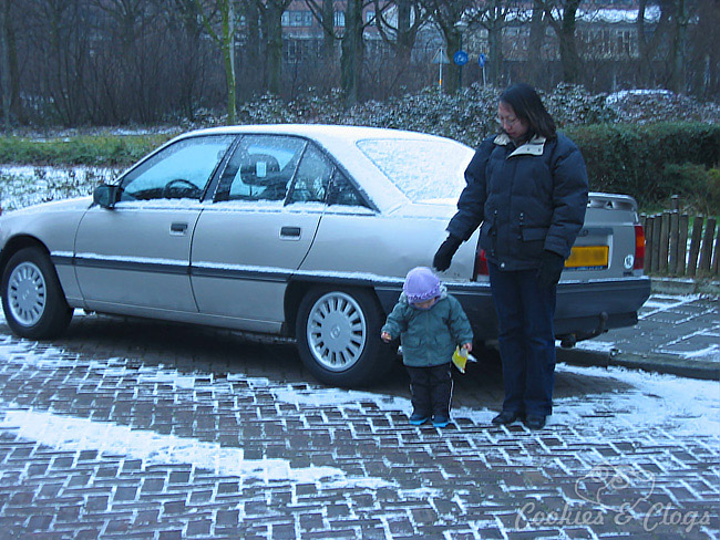 How to Prepare for Winter – Snow on car in the Netherlands #MasteringAuto
