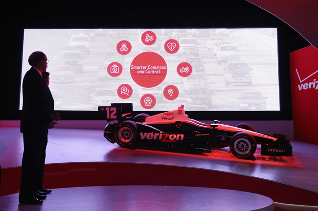 Verizon Vehicle announcement at North American International Auto Show
