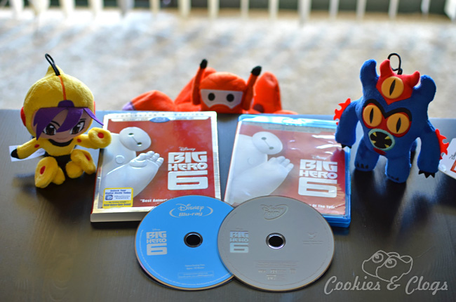 The Big Hero 6 Blu-ray Combo Pack and Digital HD copy are now available. My daughter loves watching this fun Disney movie with her Big Hero 6 Baymax by her side, especially with the bonus features mentioned here!