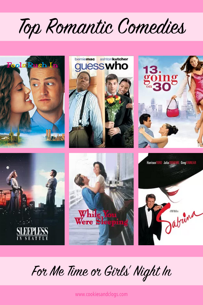 Looking for some top romantic comedies for some well-deserved Me Time or a Girl's Night In? Check out these favorites, especially #3.