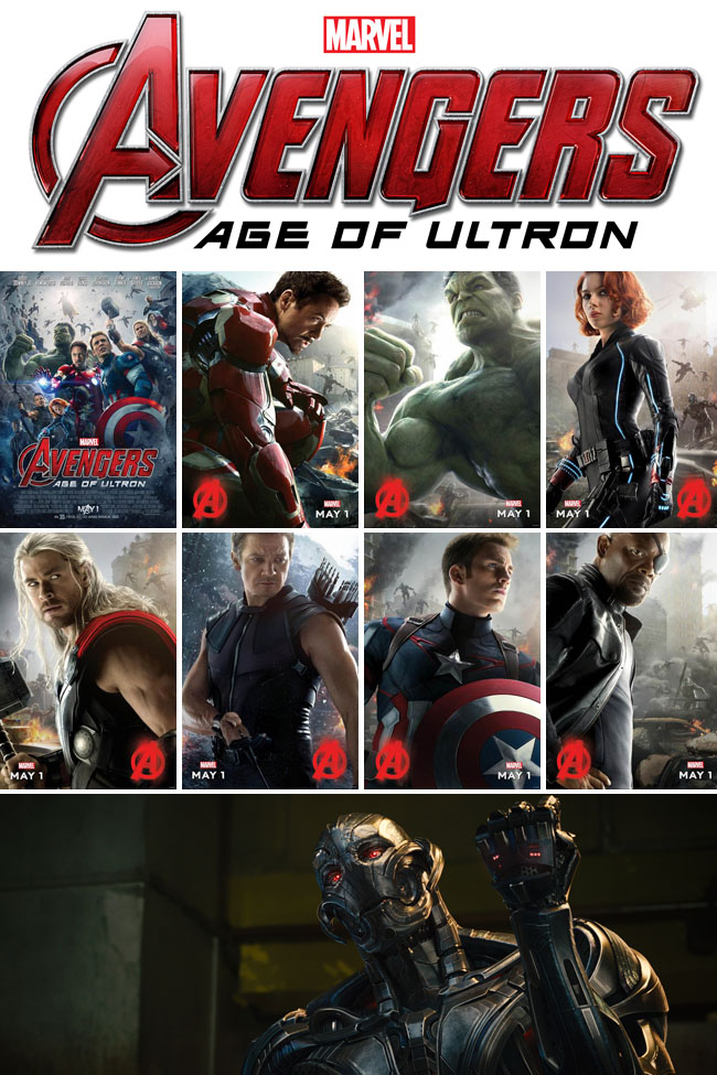 In this Avengers: Age of Ultron update you'll find a new trailer that you won't want to miss! Such a exciting action movie for Marvel fans!