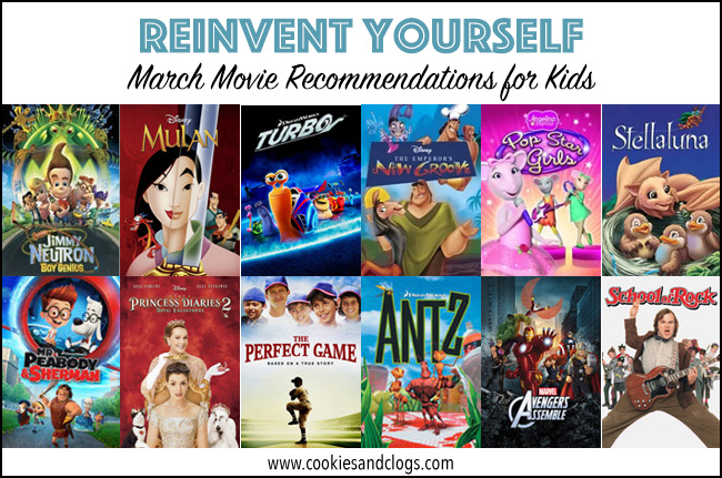 If you're looking for imaginative family March movie recommendations for kids, check these out on Netflix streaming. These are for kids of various ages. #StreamTeam