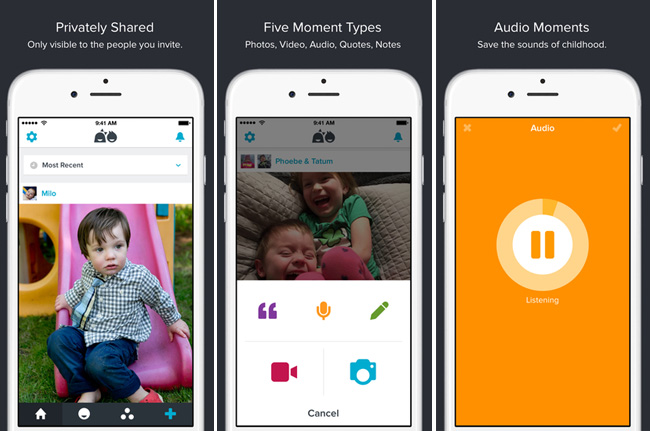 Technology | Parenting | If you've been looking for family organization ideas for your family photos and other special moments, see how to use Notabli to treasure childhood memories beyond the baby book.
