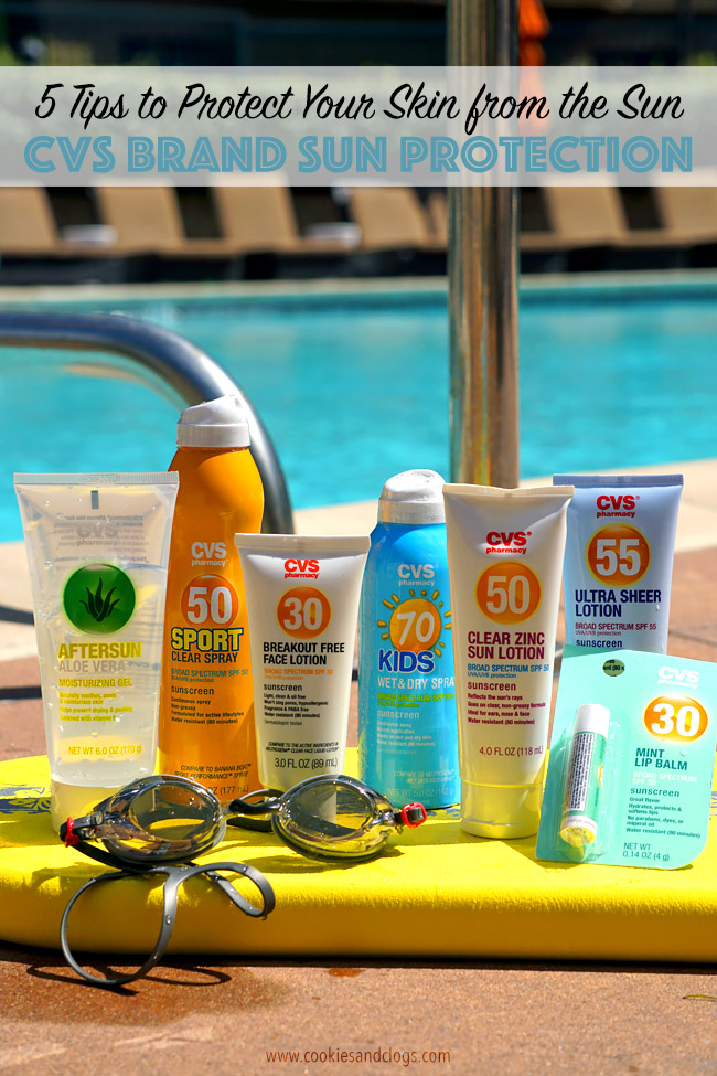 Springtime | Sun Protection | 5 Tips to Protect Your Skin From the Sun. Point number five is especially important. Get your SPF lotion, spray, and balms to protect you from those harmful UV rays this spring from CVS Brand products.