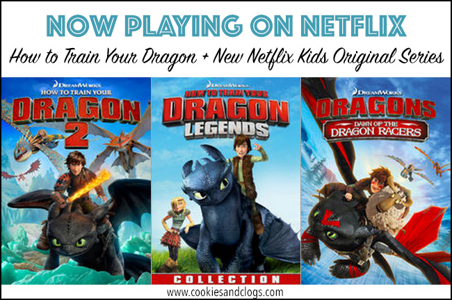 Television | Netflix Streaming now has How to Train Your Dragon 2, DreamWorks How to Train Your Dragon Legends, and Dragons: Dawn of the Dragon Racers. The info on the all-new Netflix kids original series DreamWorks Dragons: Race to the Edge, coming June 26, 2015, sounds so exciting!