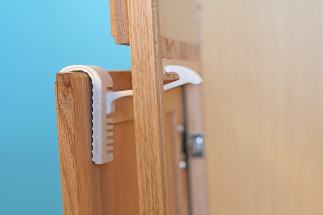 Children | Parents | The Rimiclip is a revolutionary child-safety latch for cabinets that needs no tools for installation and does not damage any surfaces. Check out the GoFundMe page to see how you can get a set to baby-proof your home.