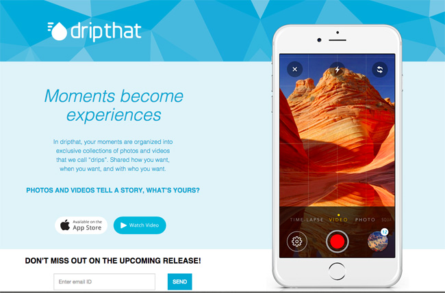 Technology | Apps | Cars | The free iOS app DripThat is great for sharing stories with photos and videos. Share publicly or privately of your DIY project, road trip travel, and more.