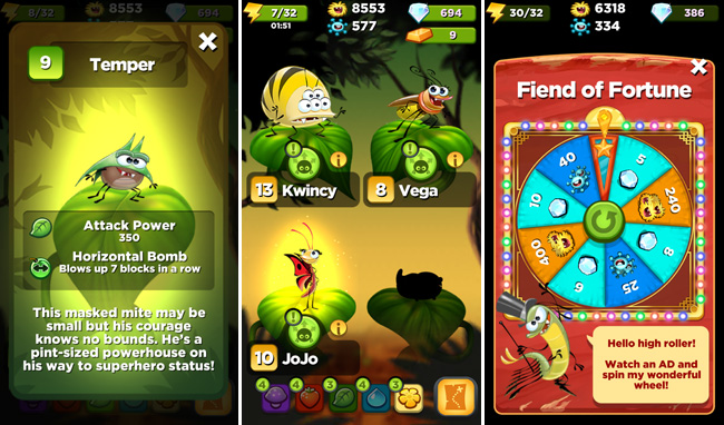 Mobile Apps | Video Games | I love the free mobile game app, Best Fiends! I've been hooked for months. Great for kids and adults!