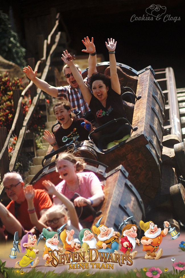Walt Disney World | Family Travel | Seven Dwarfs Mine Train | 2015 Disney Social Media Moms Celebration made our family vacation so special and provided valuable blogging tips.